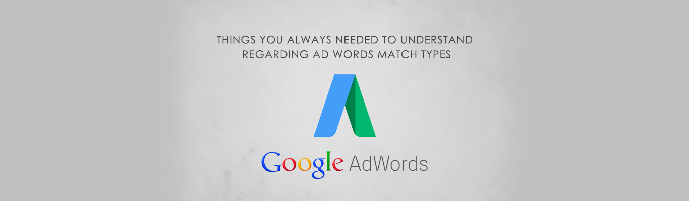 Things You Always needed to understand regarding AdWords Match Types