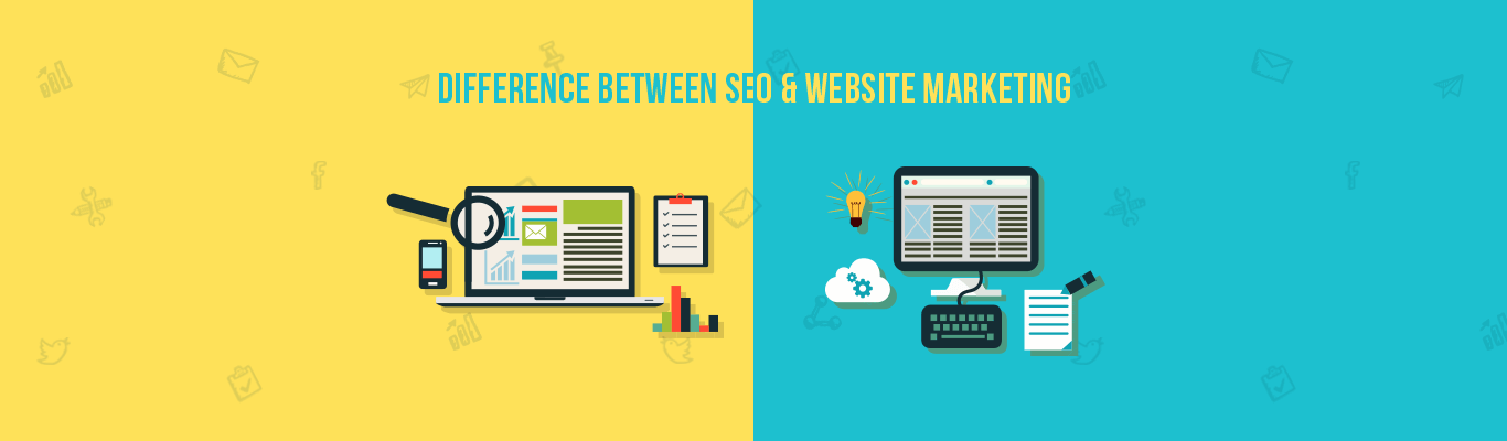 Difference between SEO and Website Marketing