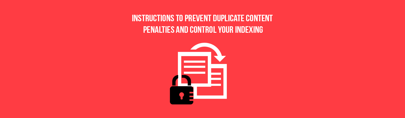 Instructions to Prevent Duplicate Content Penalties and Control Your Indexing