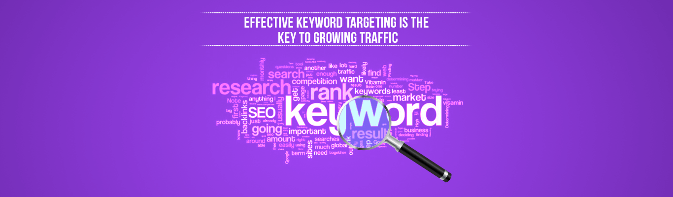 Effective Keyword Targeting Is The Key To Growing Traffic