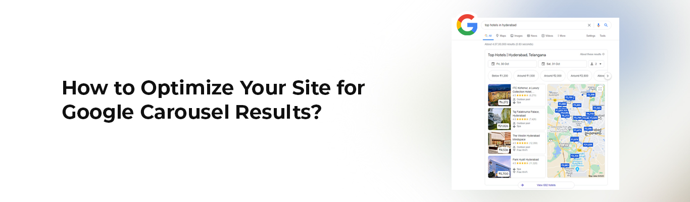 How to Optimize Your Site for Google Carousel Results?