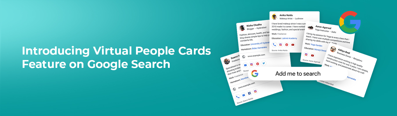 Introducing Virtual People Cards Feature on Google Search