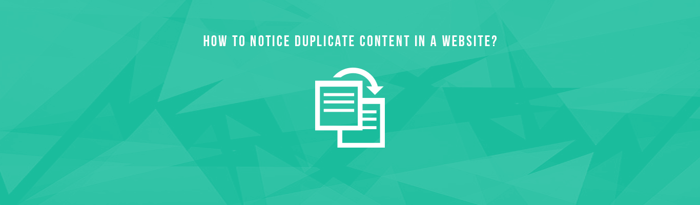 How To Notice Dupliacte Content In a Website